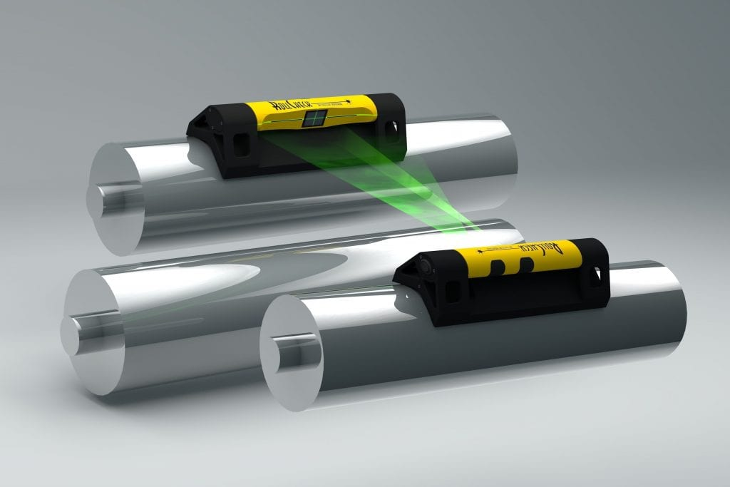 The  RollCheck® Green Laser Alignment System