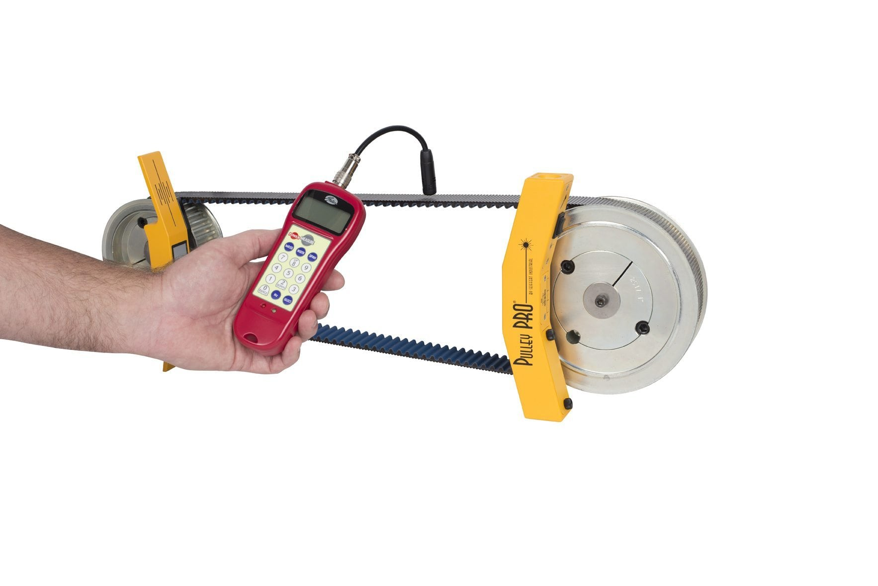 Belt Tension Meter : Sonic belt tension meter measure vibration frequency