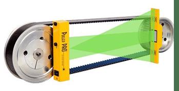 laser-belt-alignment-setup