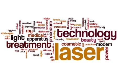 La historia de la tecnología láser